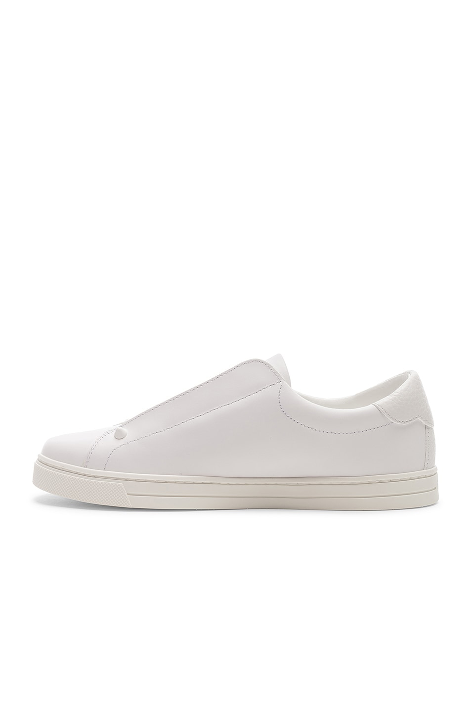 Image 5 of Fendi Rockoclick Sneakers in White