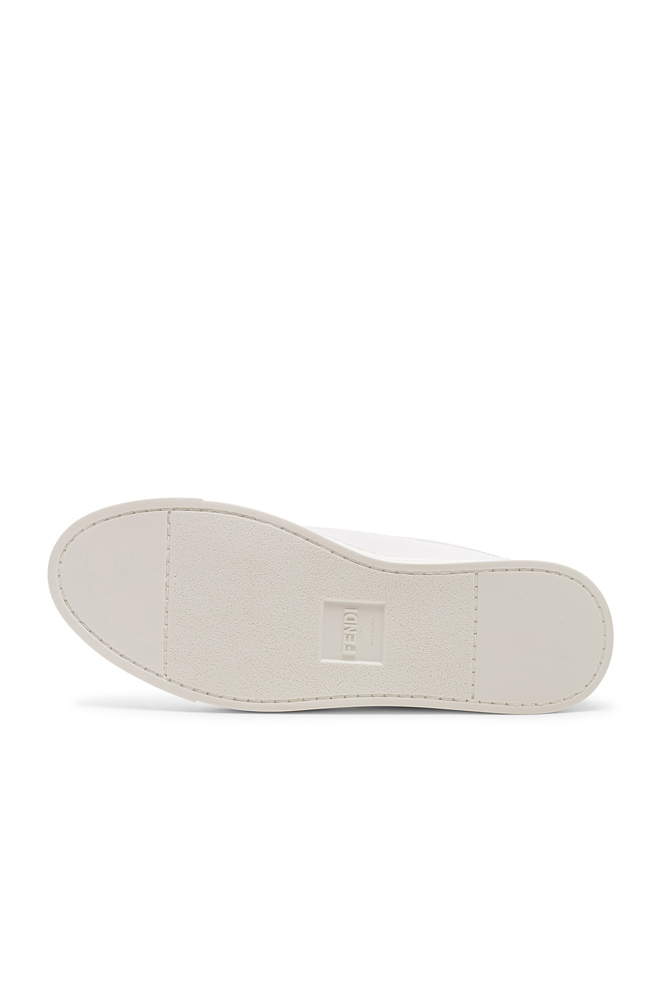 Image 6 of Fendi Rockoclick Sneakers in White