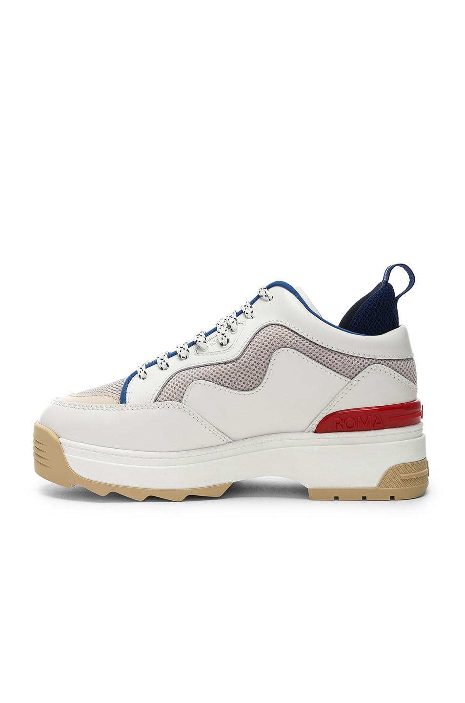 Image 5 of Fendi T-Rex Sneakers in White