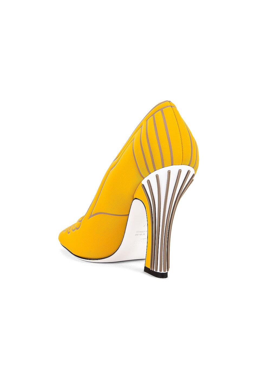 Image 3 of Fendi FFreedom Heel in Yellow