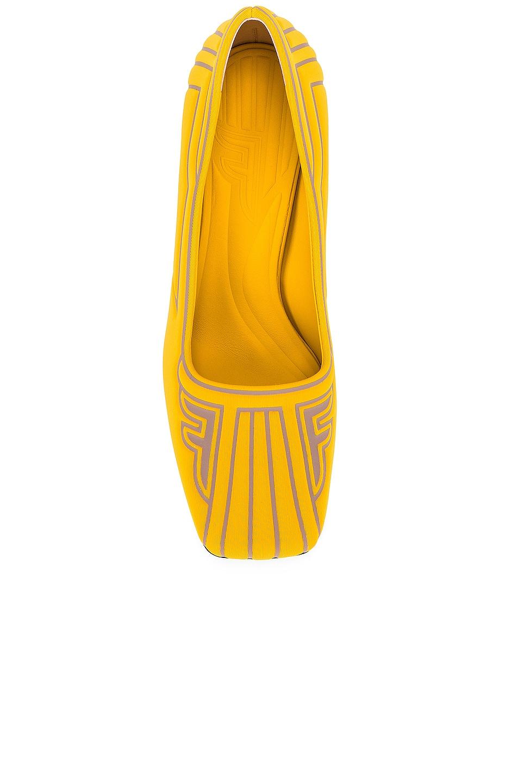 Image 4 of Fendi FFreedom Heel in Yellow