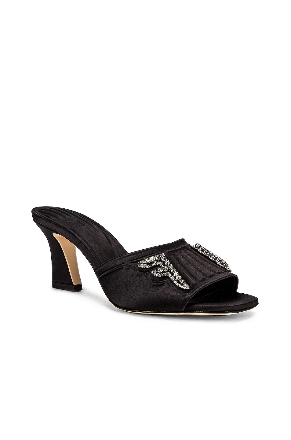 Image 3 of Fendi FFreedom Mules in Black