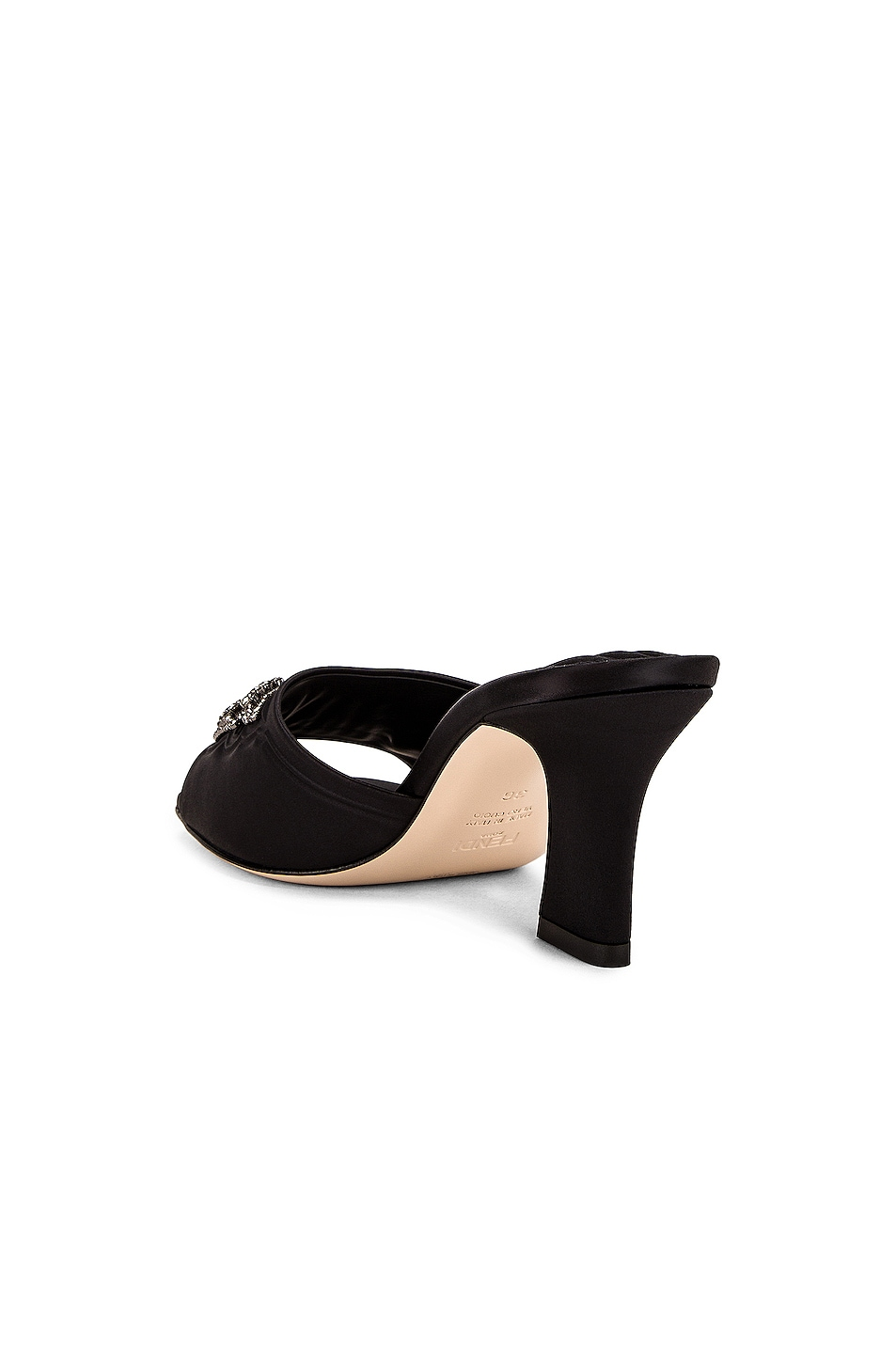 Image 4 of Fendi FFreedom Mules in Black