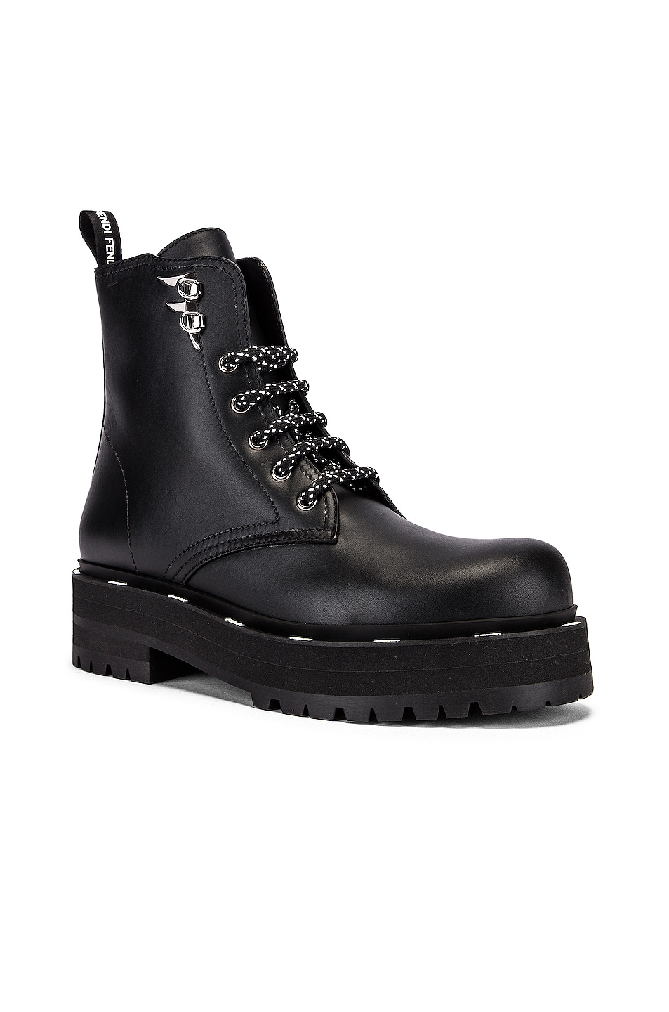 Image 2 of Fendi FFreedom Boots in Black