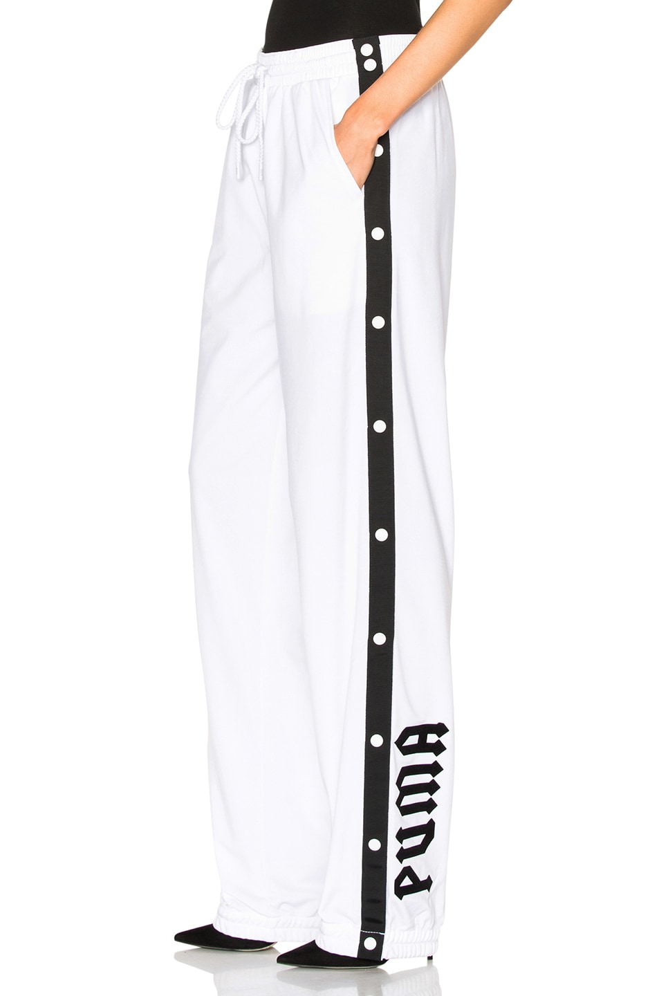 Image 1 of Fenty by Puma Tear Away Track Pants in White