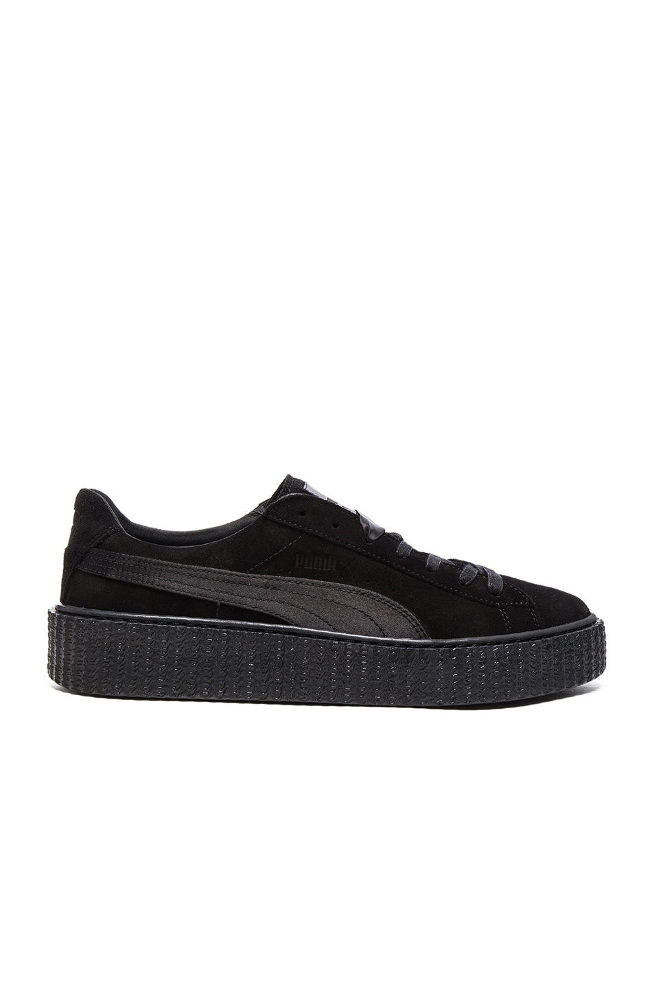 Image 1 of Fenty by Puma Suede Creepers in Black