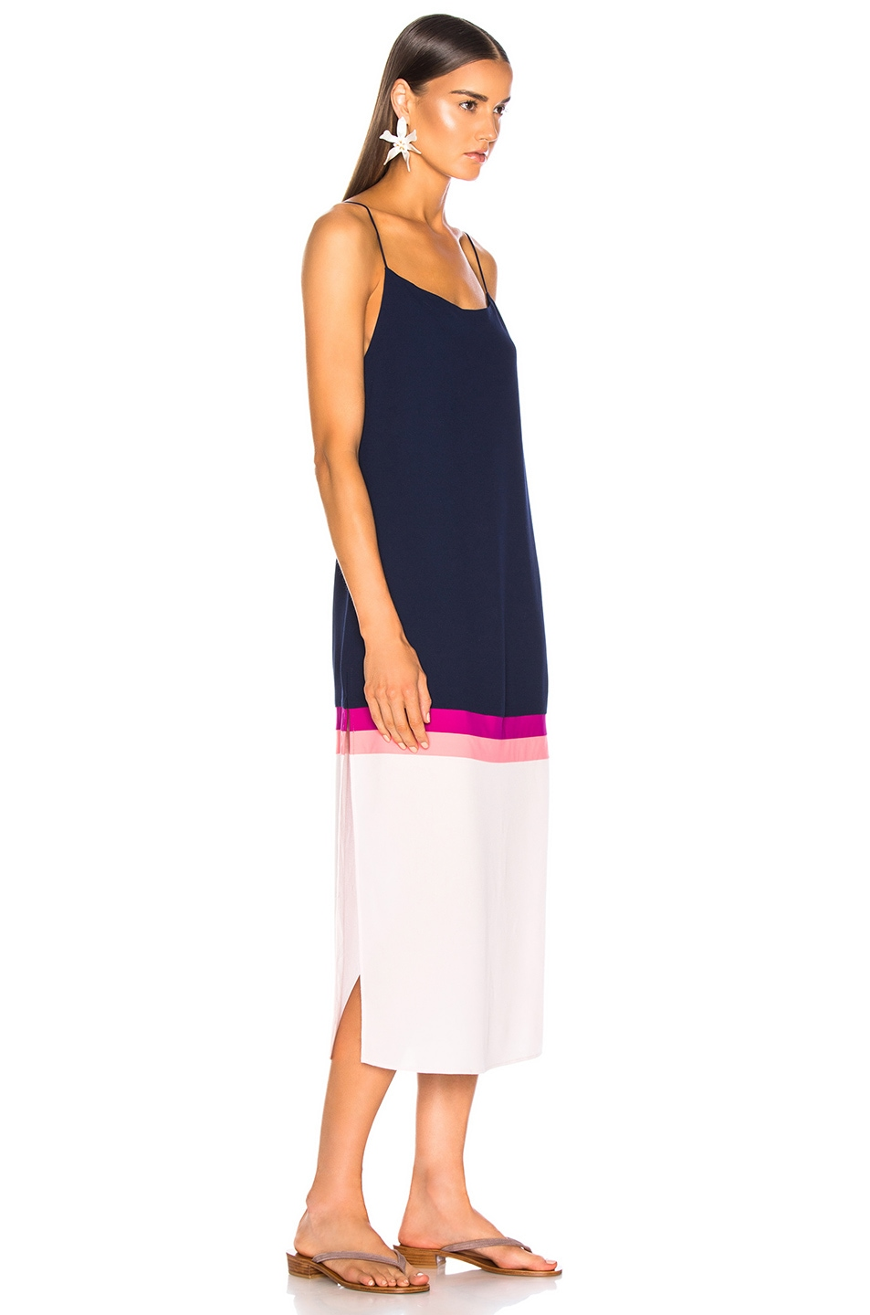 Image 2 of FLAGPOLE Lennon Dress in North Navy Multi