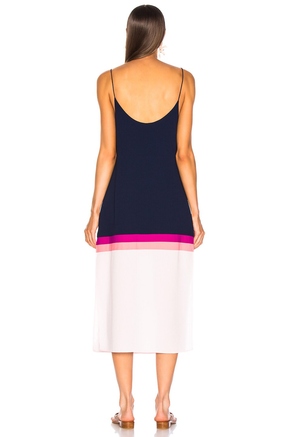 Image 3 of FLAGPOLE Lennon Dress in North Navy Multi