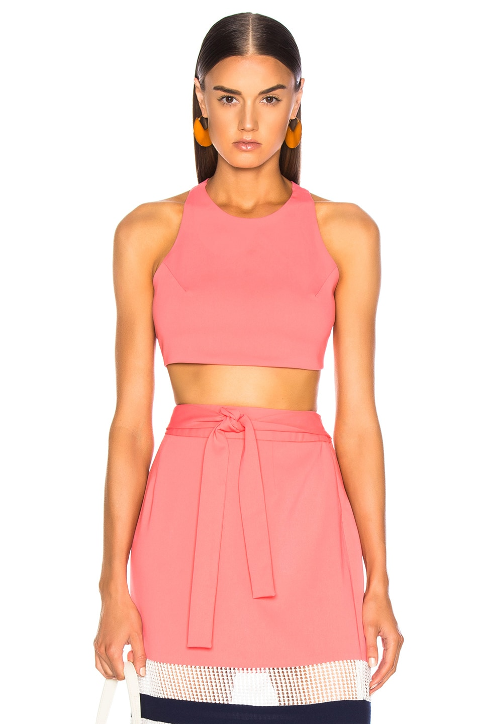 Flagpole FLAGPOLE KATE CROP TOP IN FLAMINGO