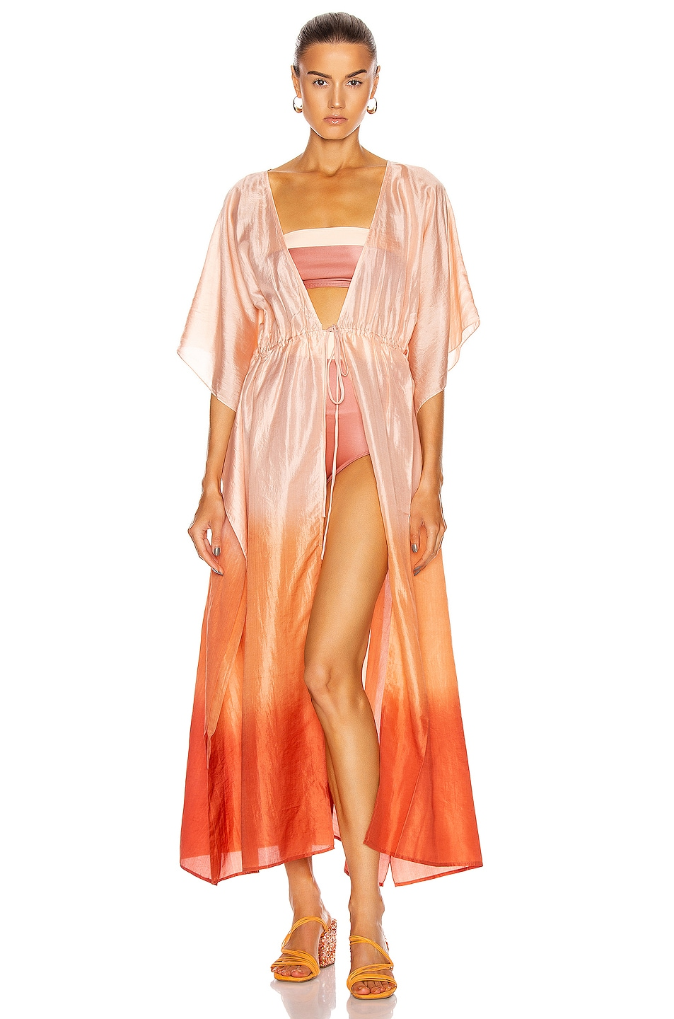 Image 1 of FLAGPOLE Alexis Kaftan Top in Ombre