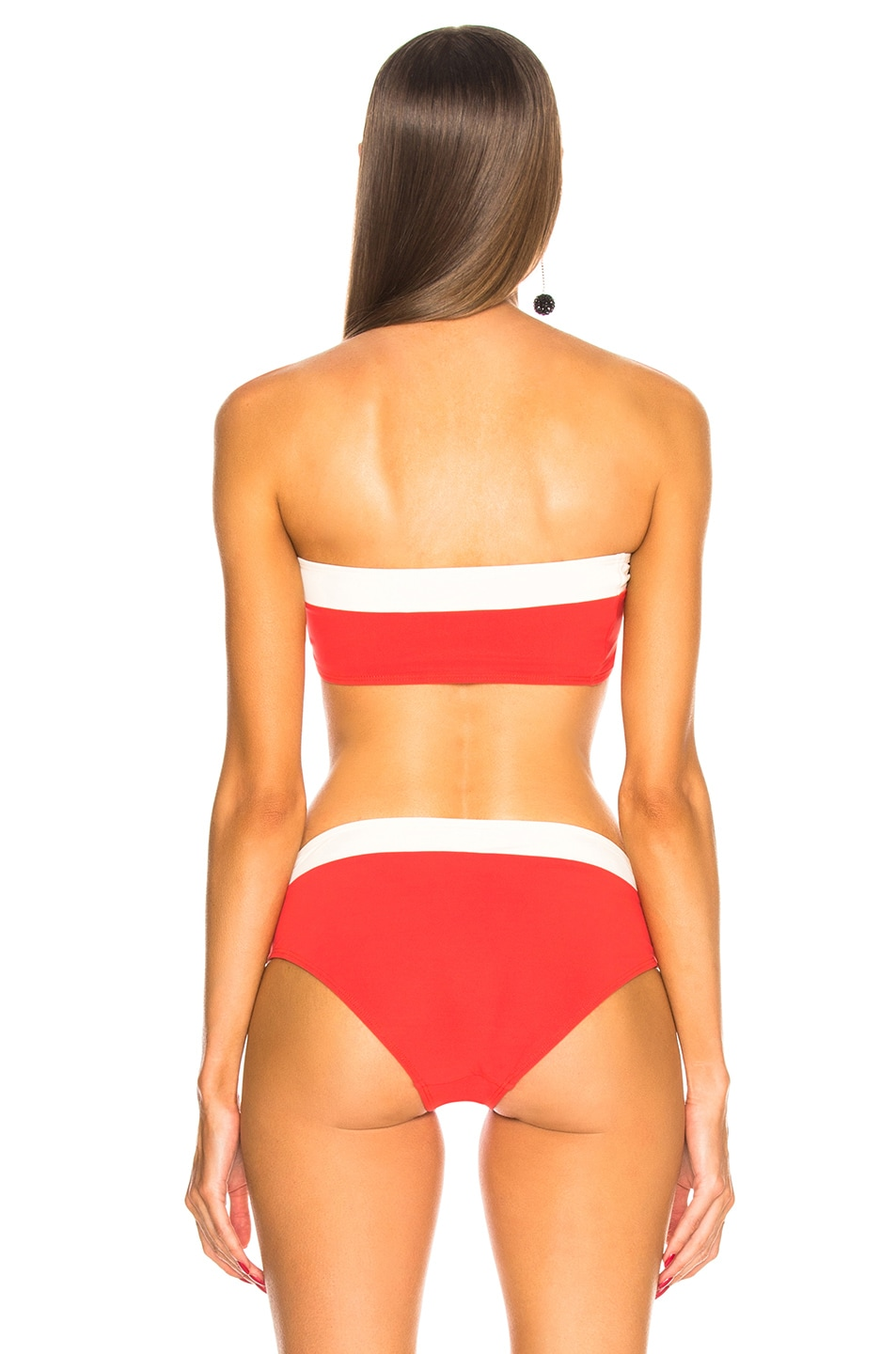 Image 3 of FLAGPOLE for FWRD Lori Top in Red and Ivory