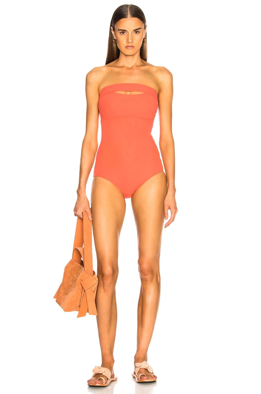 Image 1 of FLAGPOLE Gemma Swimsuit in Papaya