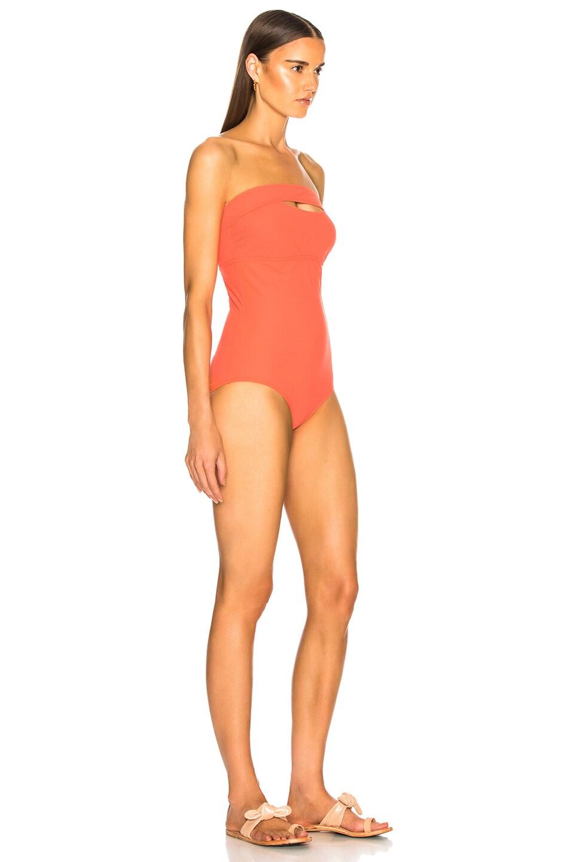 Image 2 of FLAGPOLE Gemma Swimsuit in Papaya
