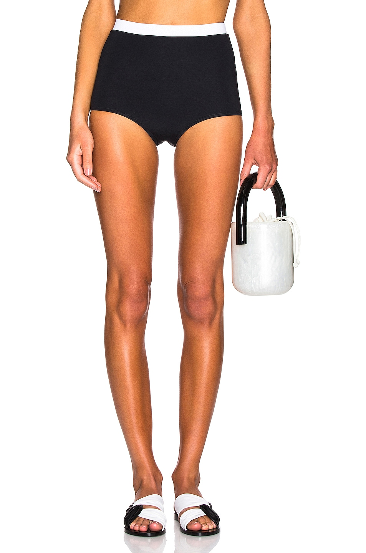 Image 1 of FLAGPOLE Diana Bikini Bottom in Black