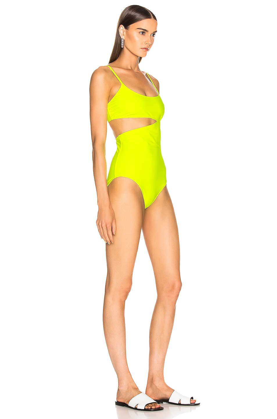 Image 2 of FLAGPOLE Bella Swimsuit in Tennis
