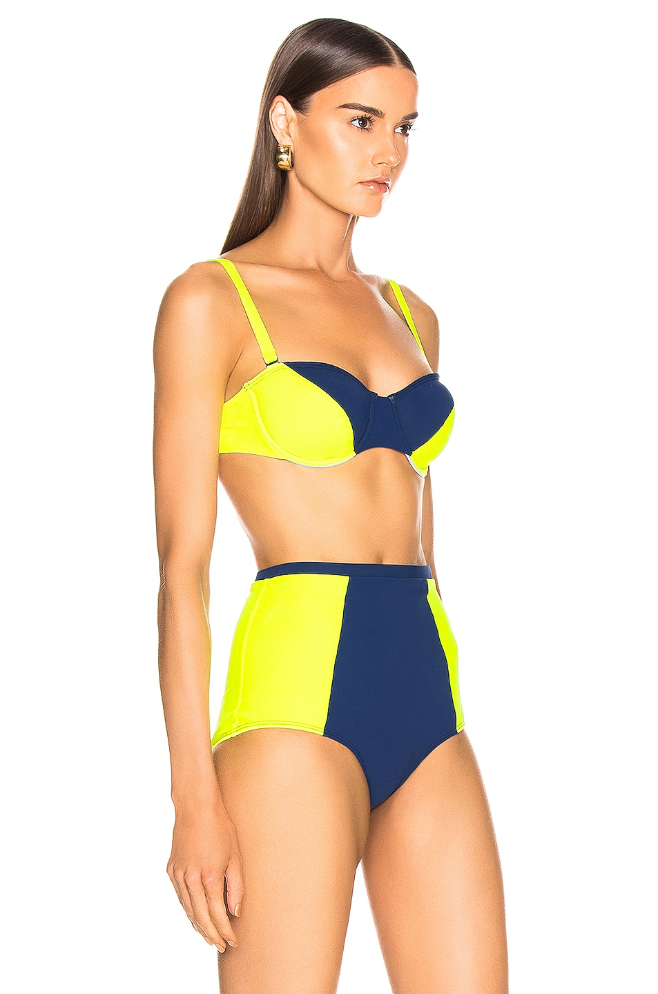 Image 2 of FLAGPOLE Electra Top in Navy & Tennis