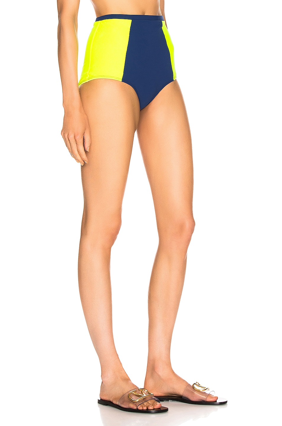 Image 2 of FLAGPOLE Stephanie Bottom in Navy & Tennis