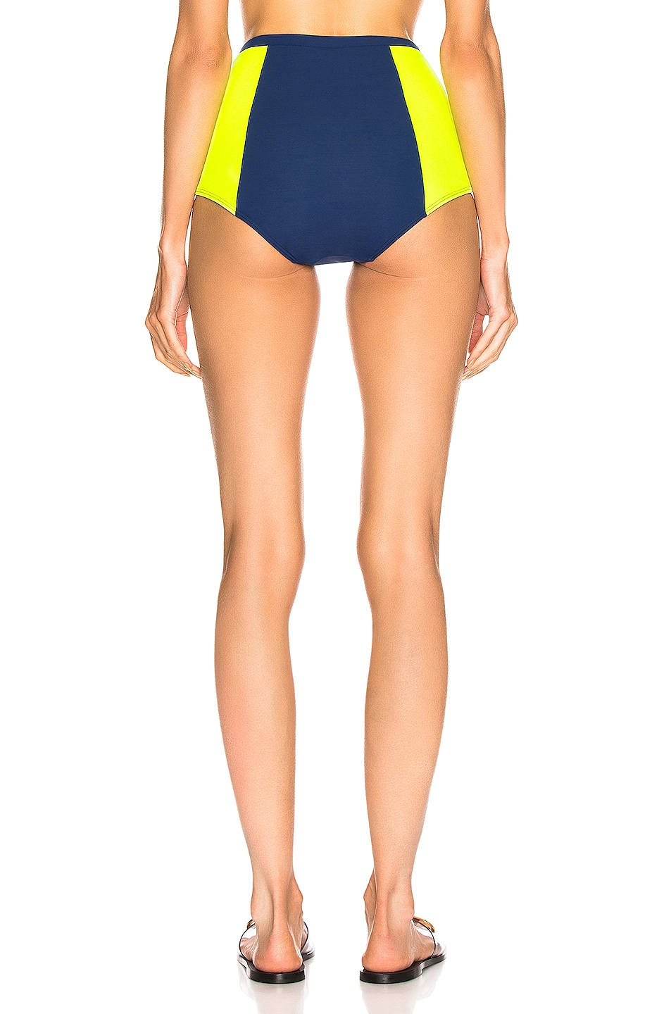Image 3 of FLAGPOLE Stephanie Bottom in Navy & Tennis