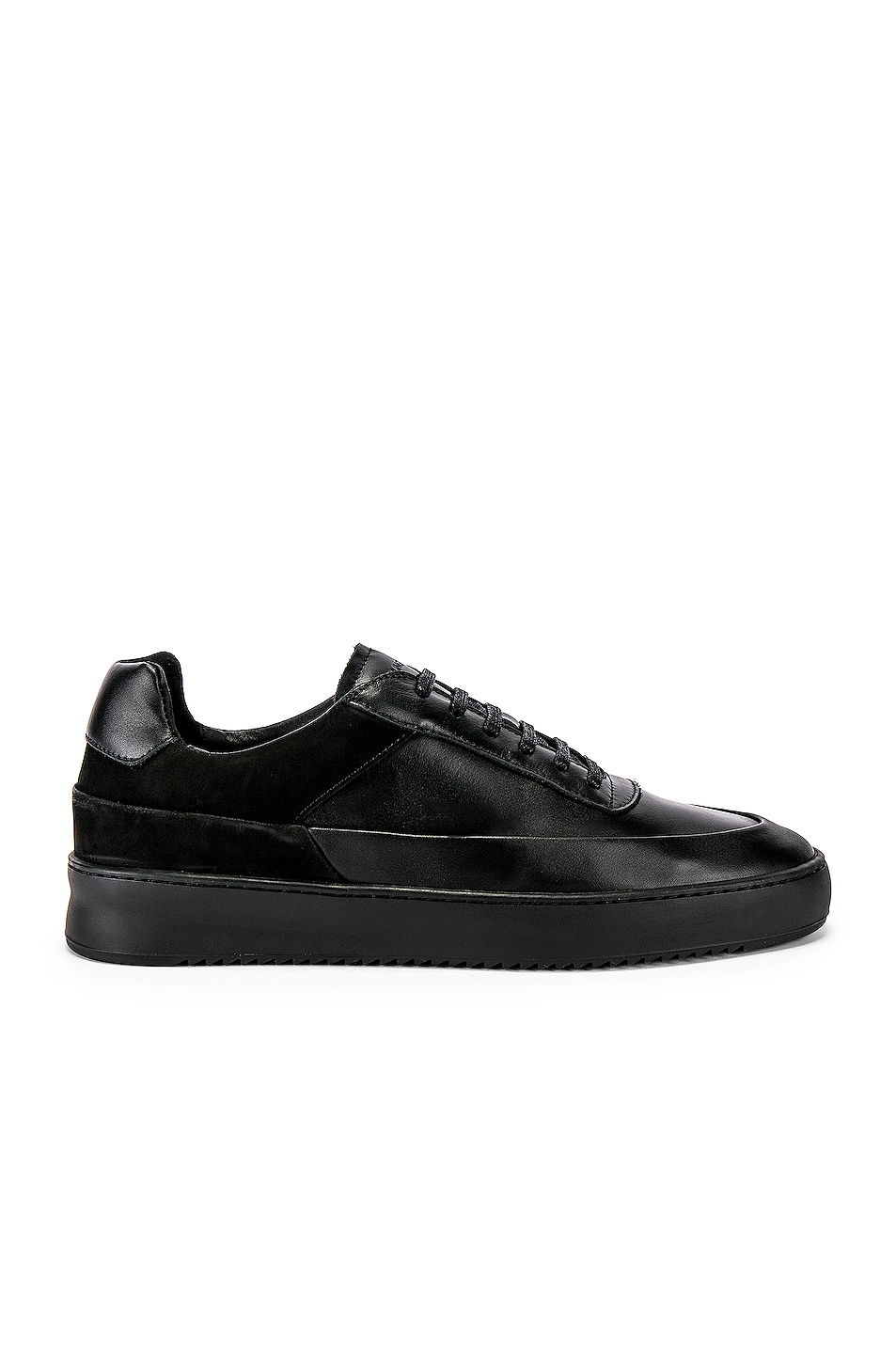 Image 2 of Filling Pieces Shift Sneaker in All Black