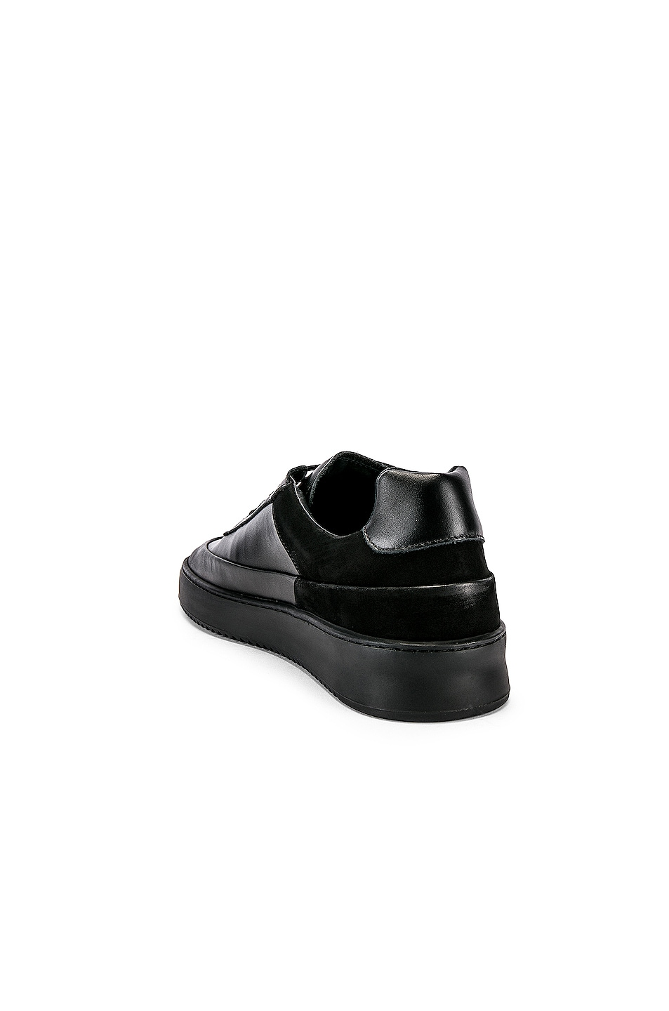 Image 3 of Filling Pieces Shift Sneaker in All Black