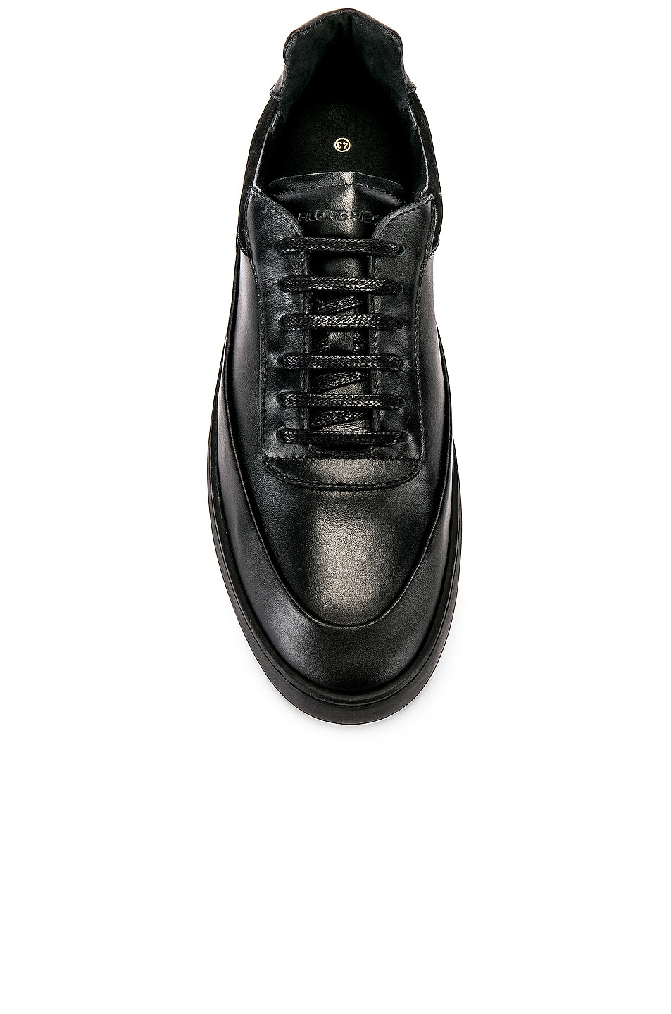 Image 4 of Filling Pieces Shift Sneaker in All Black