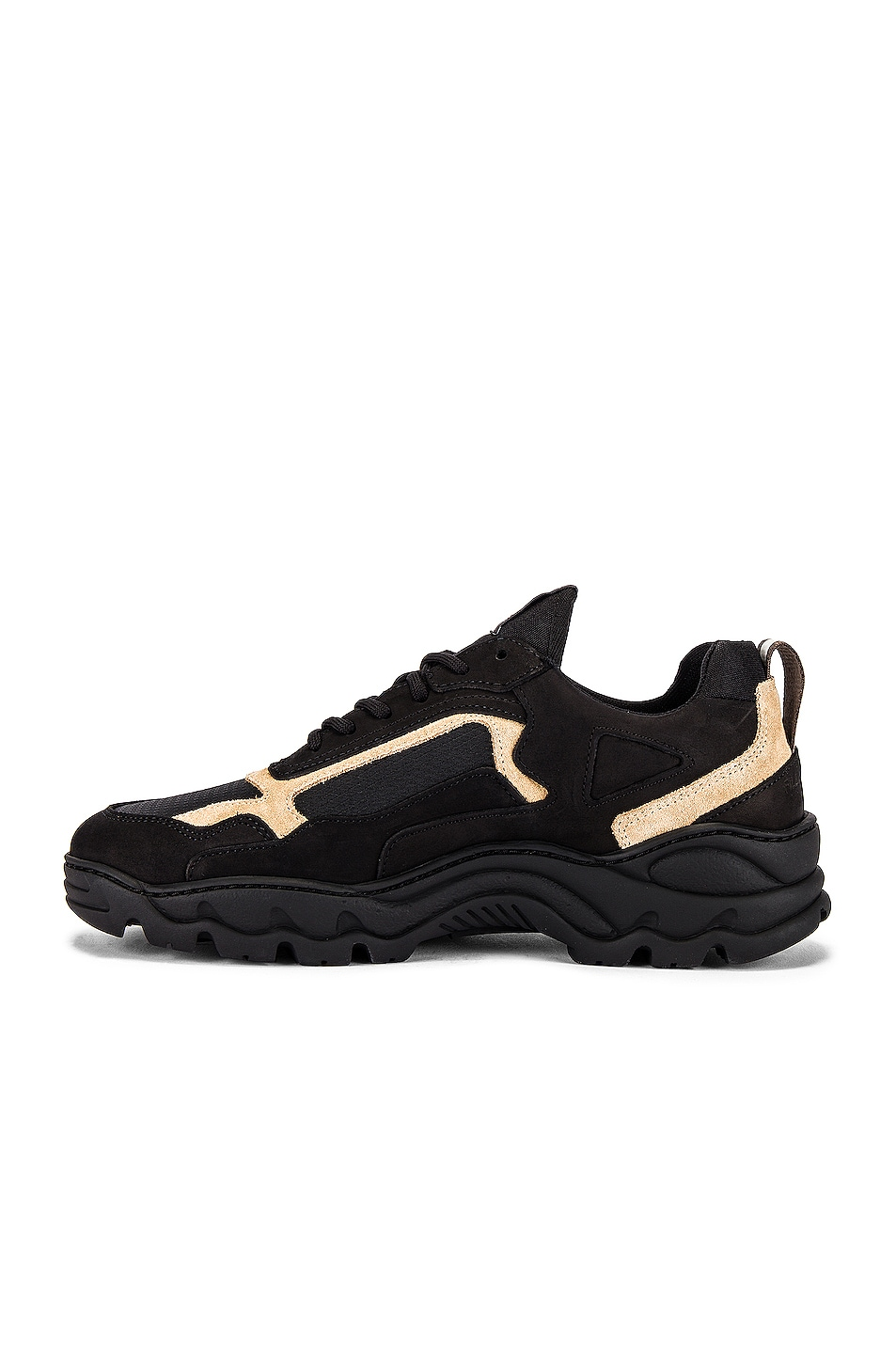 Image 5 of Filling Pieces Trimix Sneaker in All Black