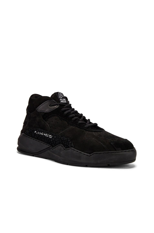 Image 1 of Filling Pieces Flow 2.0 Sneaker in Black