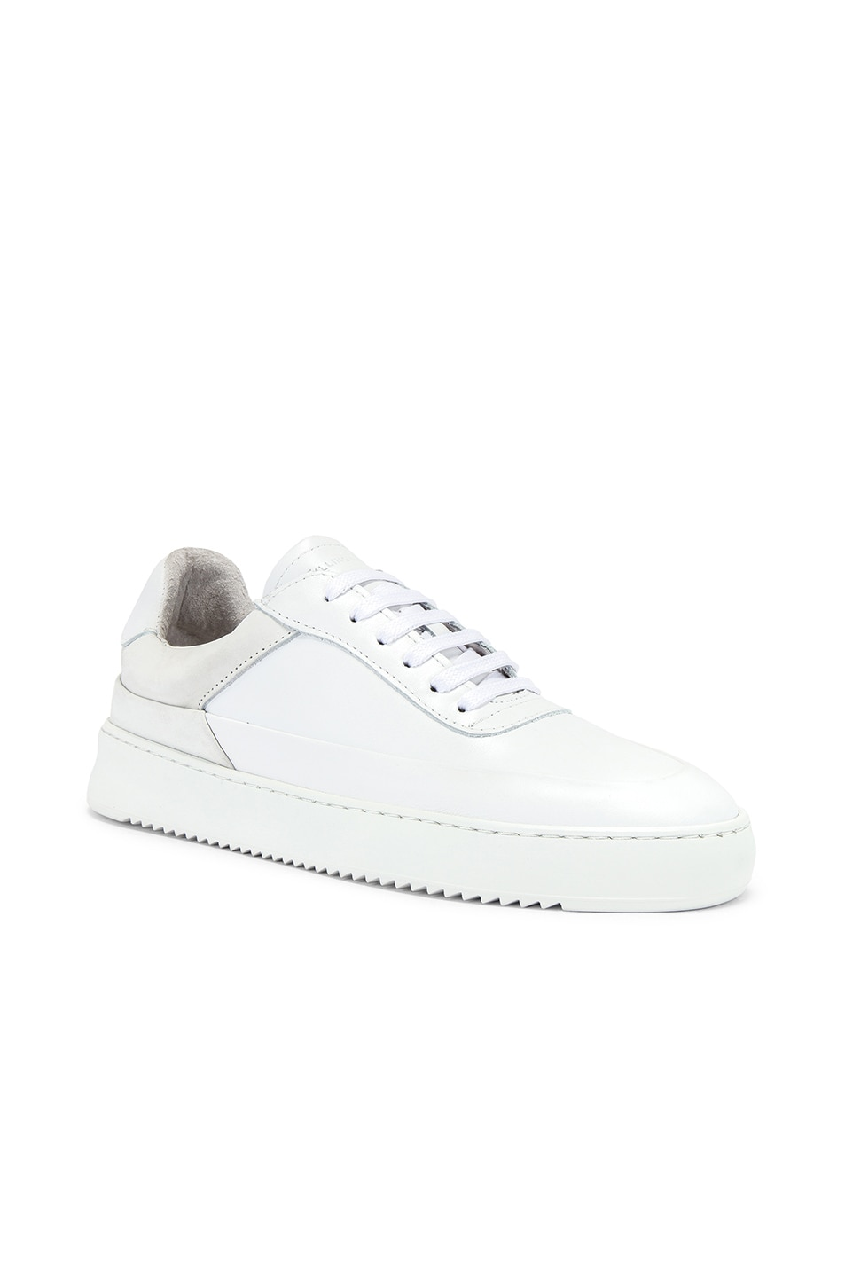 Image 1 of Filling Pieces Shift Sneaker in All White