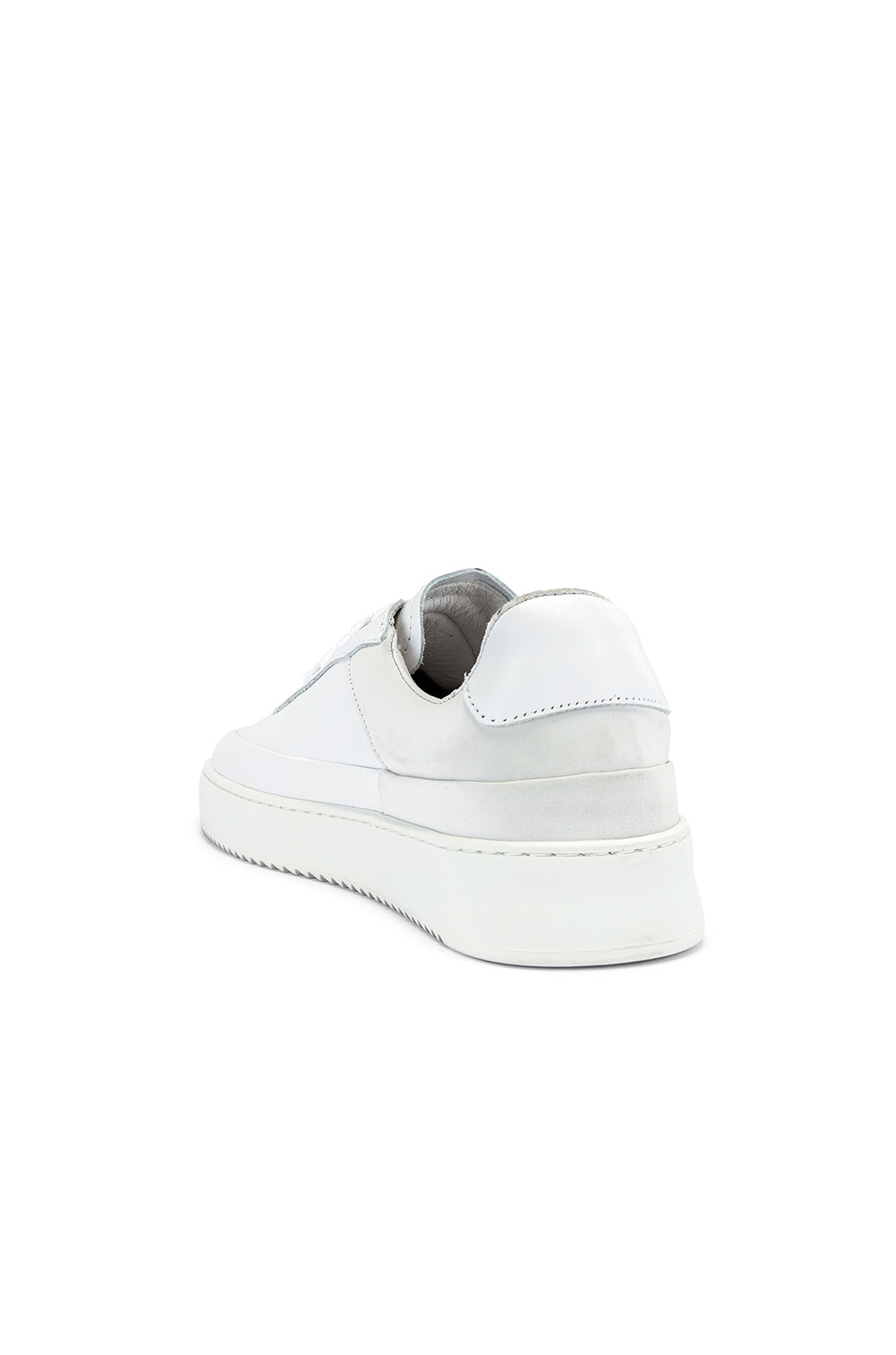Image 3 of Filling Pieces Shift Sneaker in All White