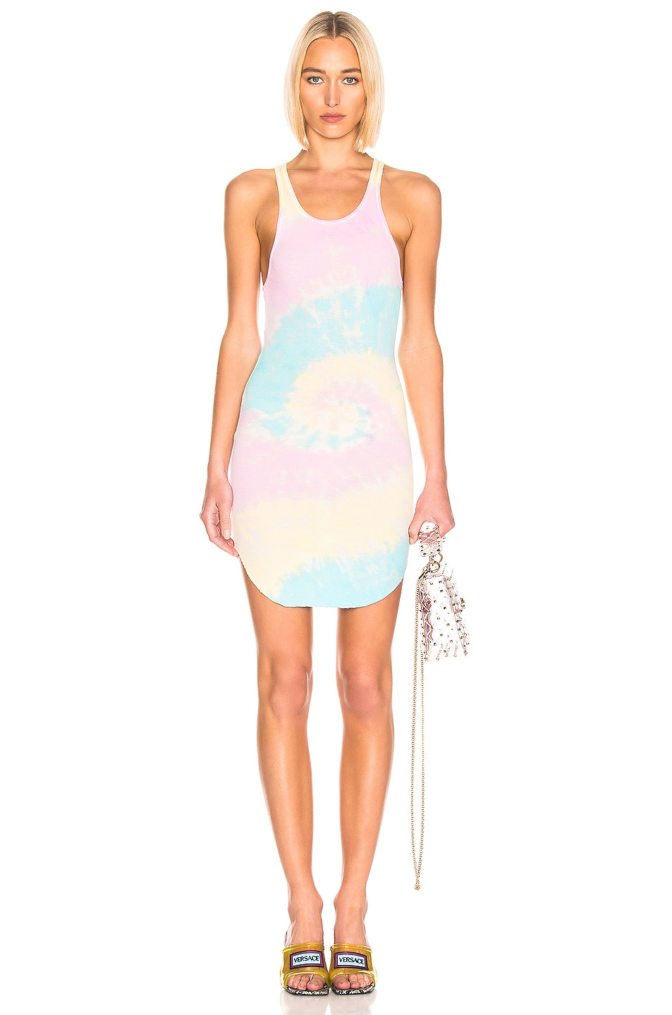 Image 1 of Frankie B Shea Tank Dress in Tie Die