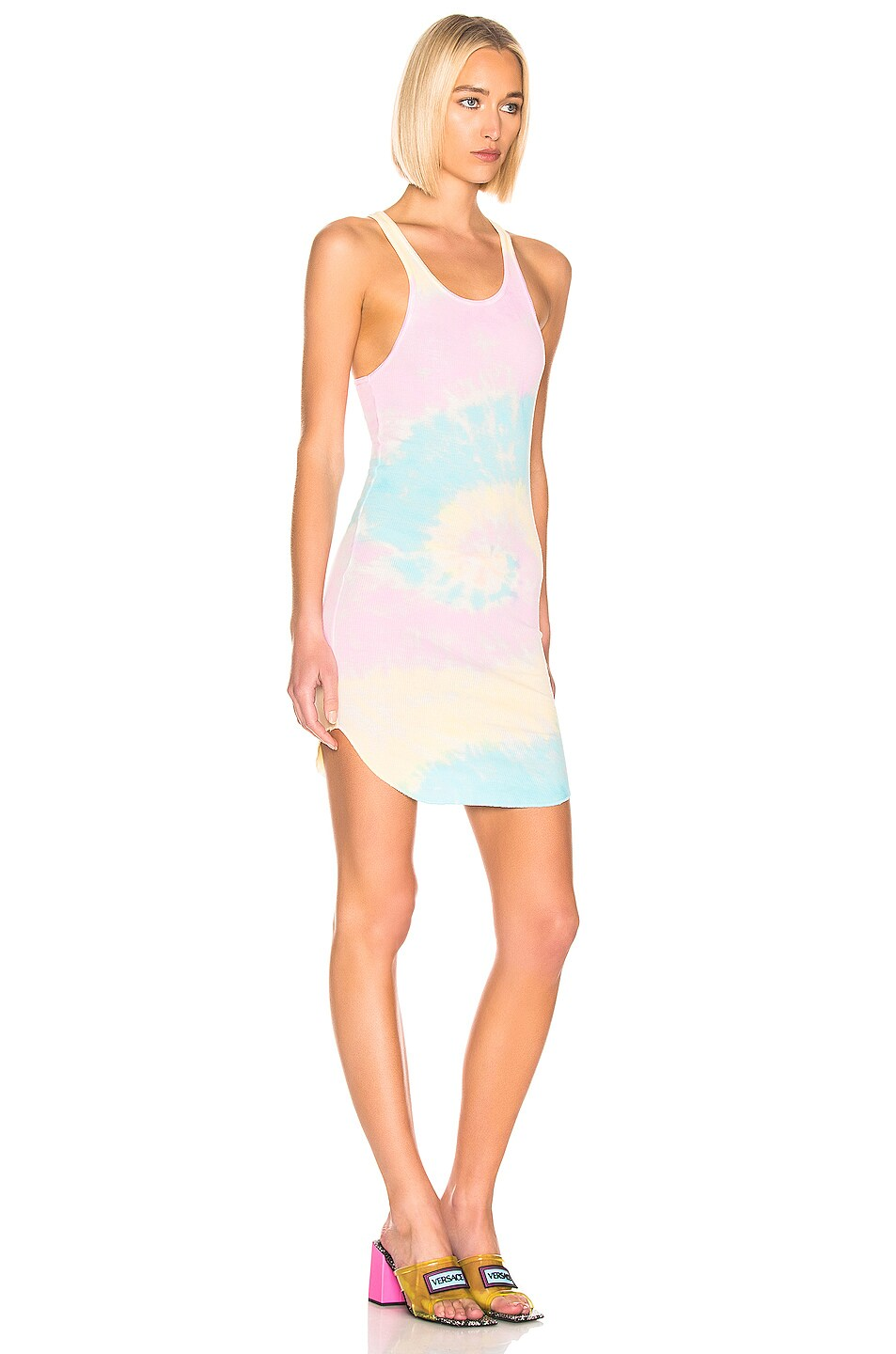 Image 2 of Frankie B Shea Tank Dress in Tie Die
