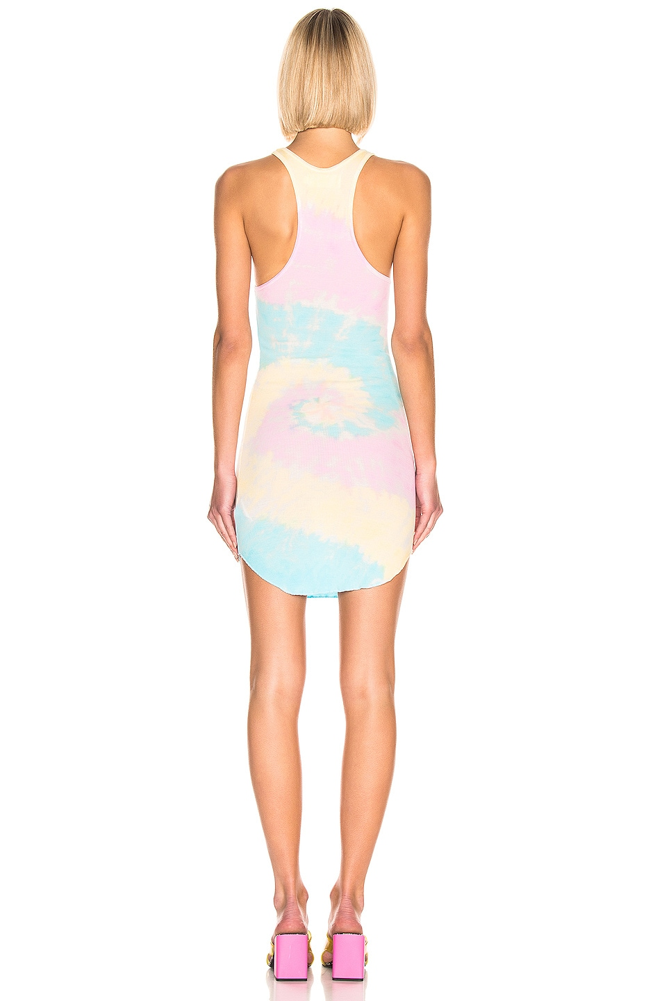 Image 3 of Frankie B Shea Tank Dress in Tie Die