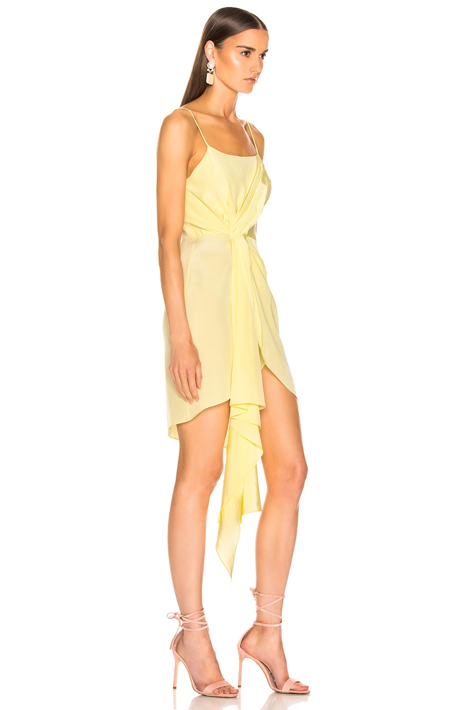 Image 2 of fleur du mal Cascade Slip Dress in Sorbetto