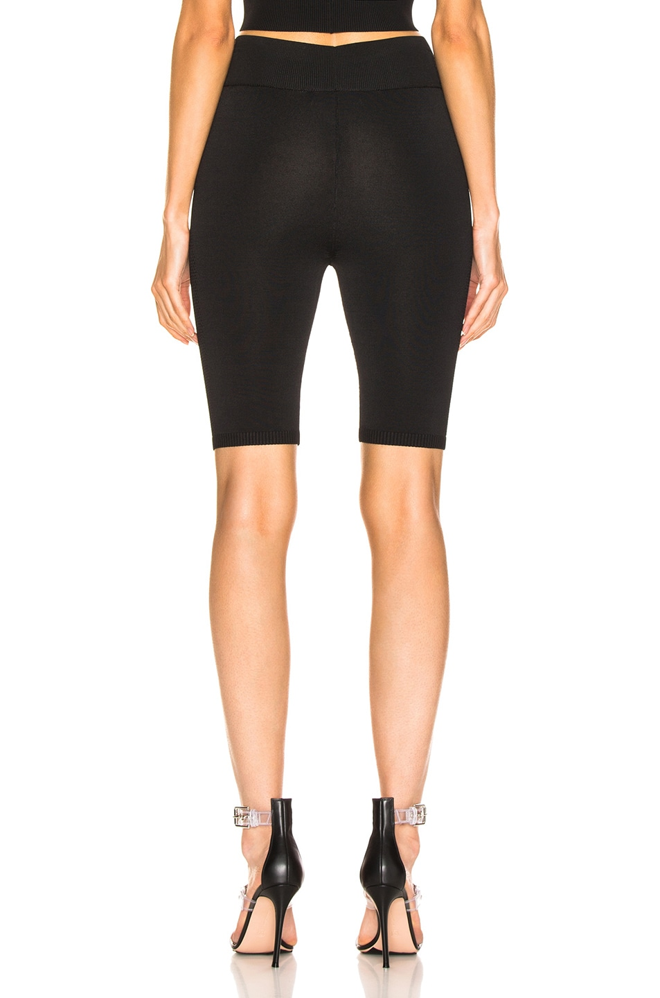 Image 3 of fleur du mal Knit Bike Short in Black