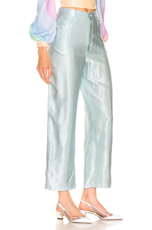 Image 2 of fleur du mal Silky Jean in Whisper Mint