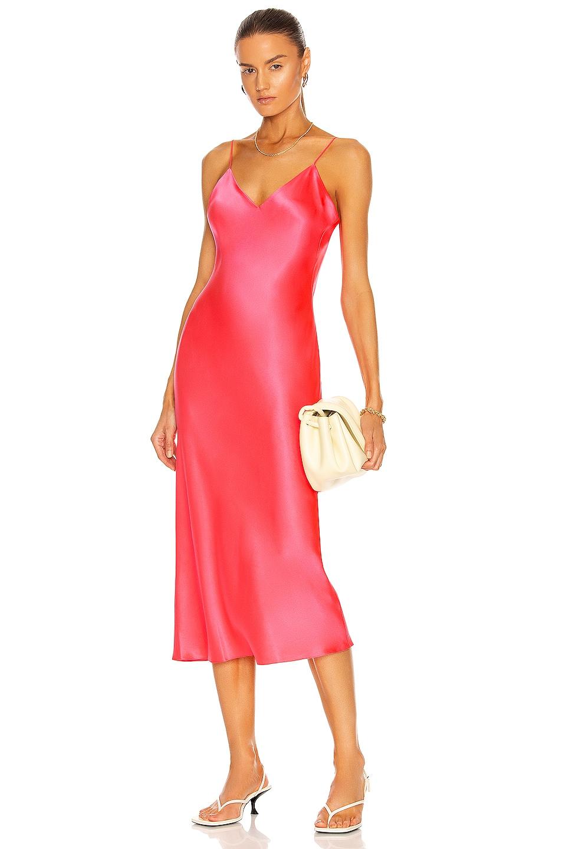 Image 1 of Fe Noel Slip Dress in Flamingo Pink