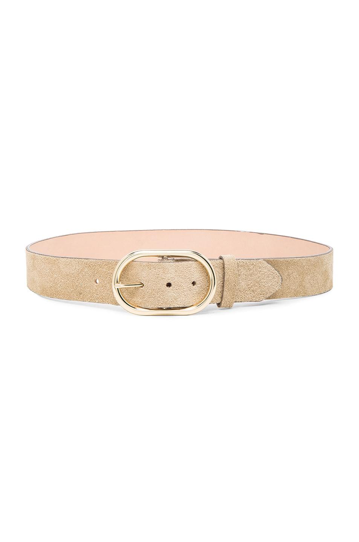 Image 1 of FRAME Denim Oval Belt in Beige