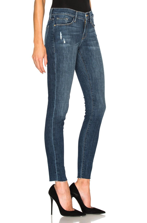 image 3 of frame denim le skinny de jeanne in grand street