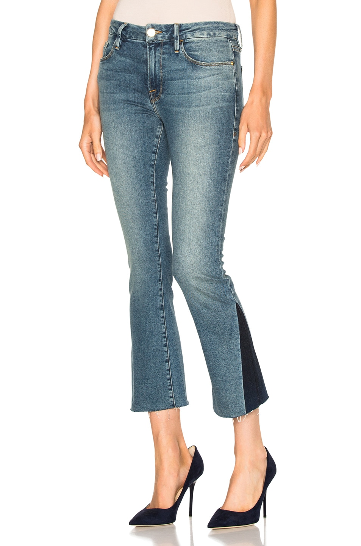 Frame Mini Boot Gusset jeans uiBKodpYLn