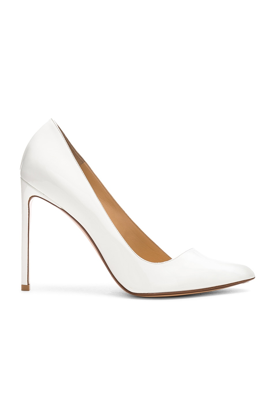 Image 1 of FRANCESCO RUSSO Pointed Toe Heels in White
