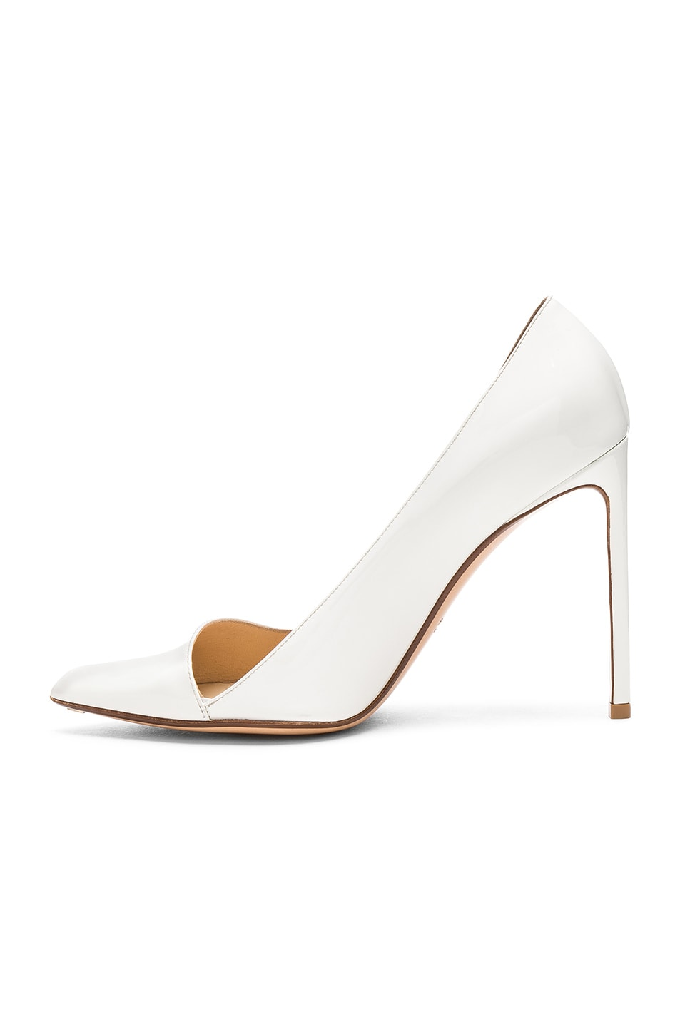 Image 5 of FRANCESCO RUSSO Pointed Toe Heels in White