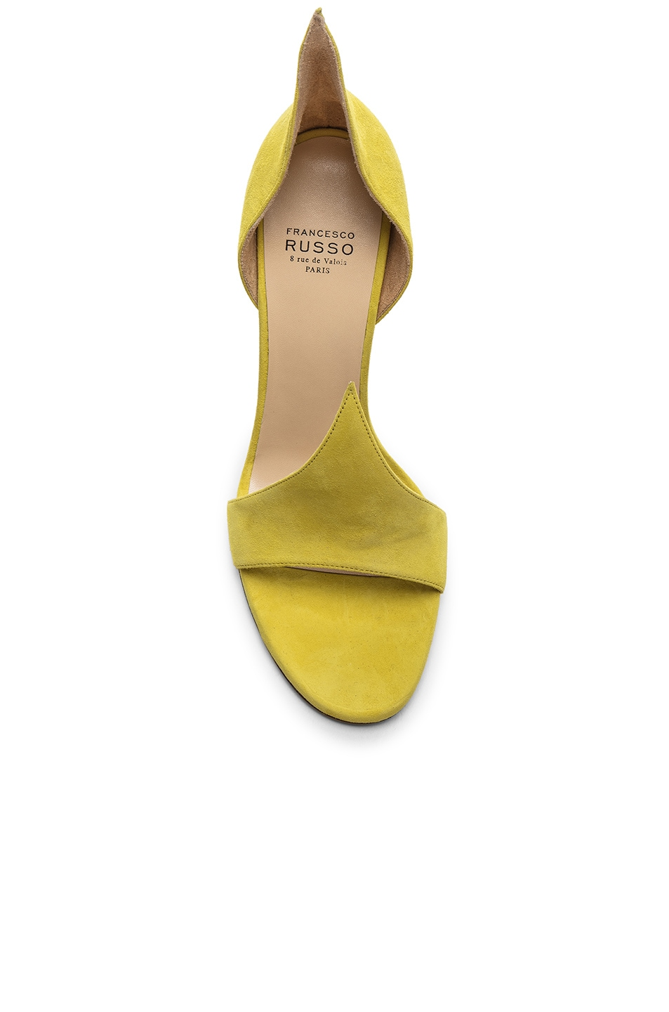 Image 4 of FRANCESCO RUSSO Flame Heels in Lime