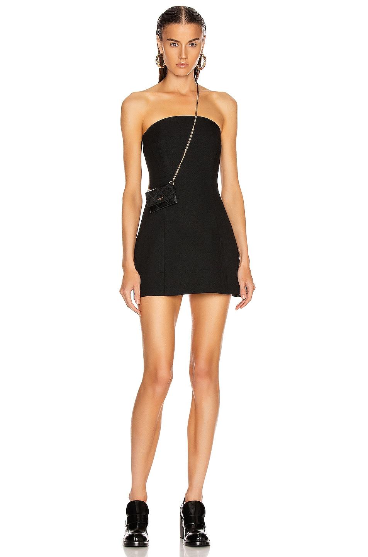 Image 1 of GEORGIA ALICE Sands Corset Dress in Black