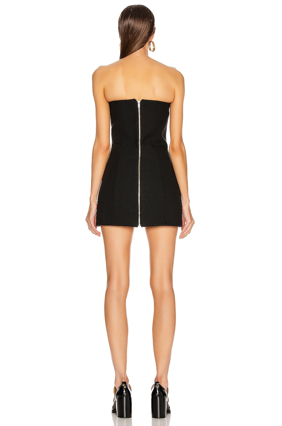 Image 3 of GEORGIA ALICE Sands Corset Dress in Black