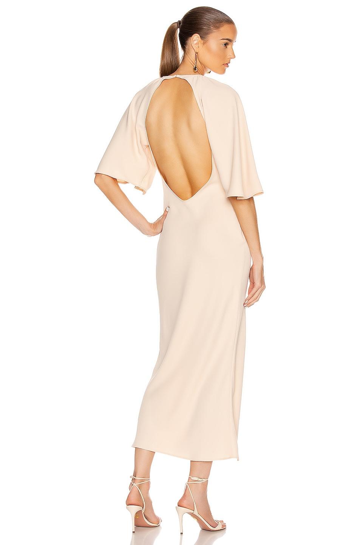 Image 1 of GEORGIA ALICE Backless Bestie Dress in Peach