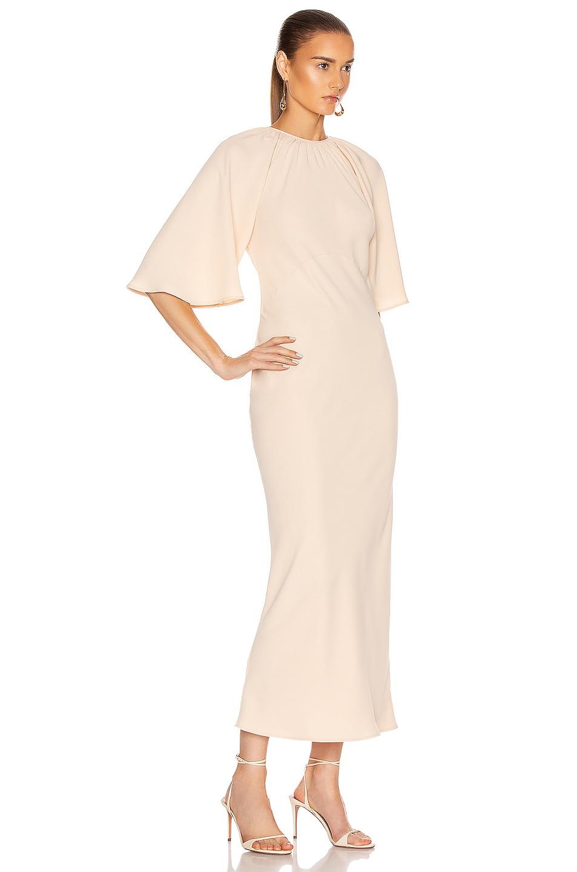 Image 3 of GEORGIA ALICE Backless Bestie Dress in Peach