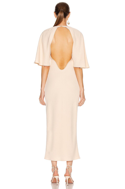Image 4 of GEORGIA ALICE Backless Bestie Dress in Peach