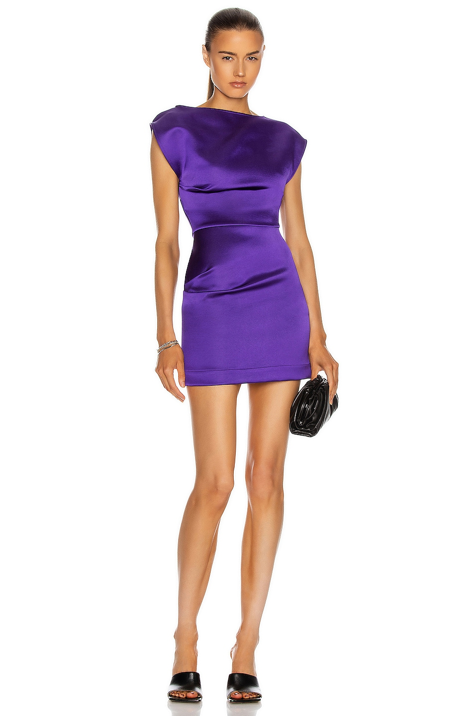 Image 1 of GEORGIA ALICE Lily Dress in Purple