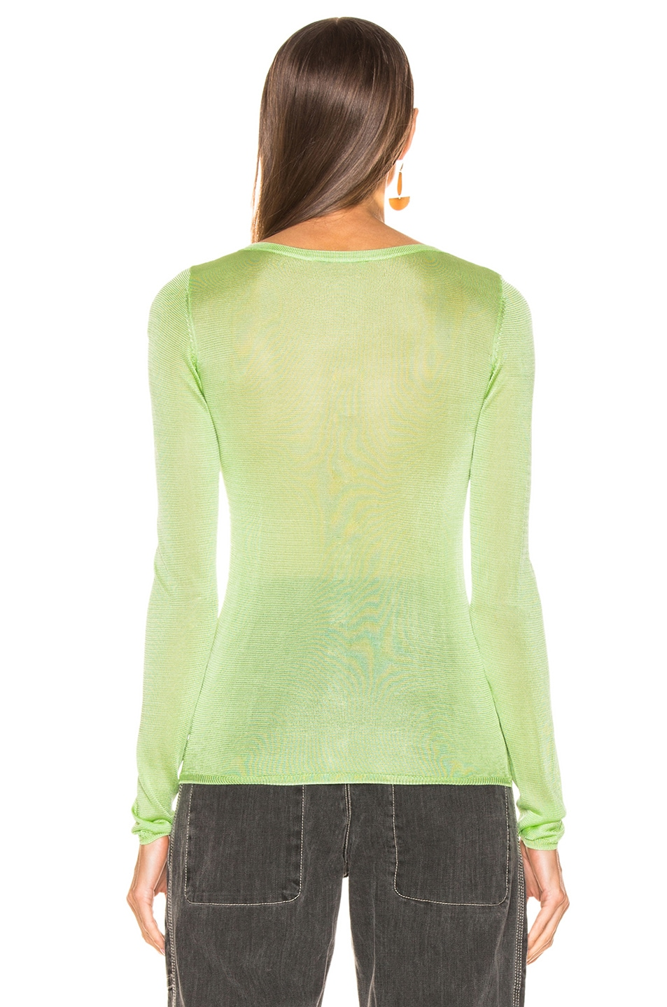 Image 4 of GEORGIA ALICE Penelope Sweater in Green