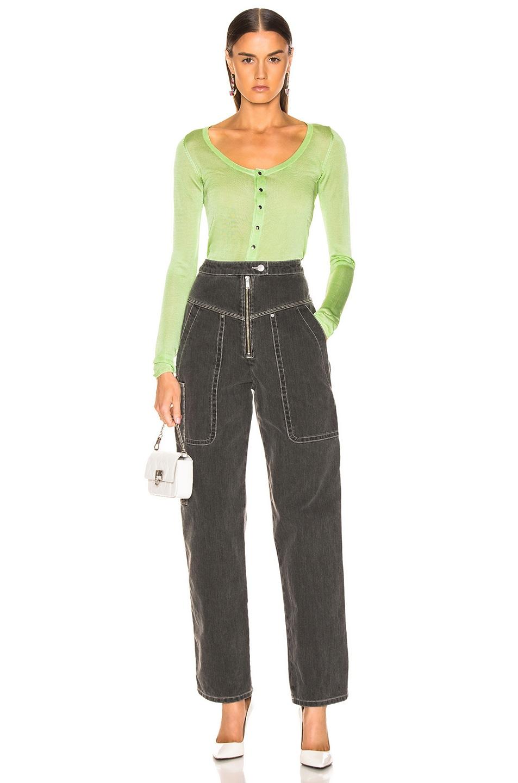 Image 5 of GEORGIA ALICE Penelope Sweater in Green